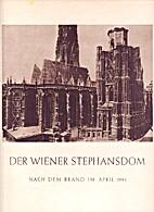 Der Wiener Stephansdom nach dem Brand im…