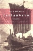 The Sagas of Icelanders by Örnólfur…