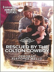 Rescued by the Colton Cowboy (The Coltons of…