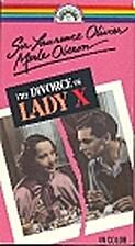 Divorce of Lady X [1938 film] by Tim Whelan