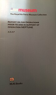 Report on Air Operations Prior and in…