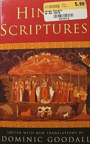 Hindu Scriptures de Dominic Goodall