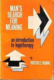Man's Search for Meaning de Viktor E ;…