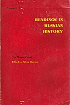 Readings in Russian History, Volume II: The…