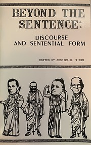 Beyond the sentence: Discourse and…