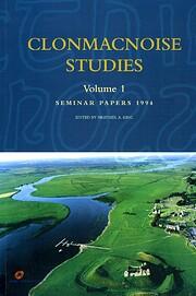 Clonmacnoise Studies (Vol 1) av Heather A.…