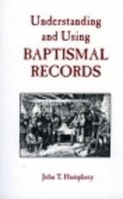 Understanding and Using Baptismal Records de…