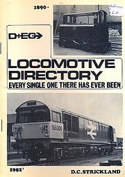 D & EG locomotive directory: Every single…