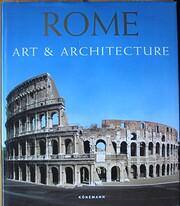 Rom : konst och arkitektur – tekijä:…