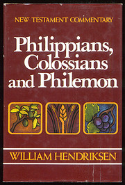 Philippians, Colossians, & Philemon…
