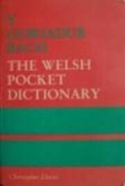 Y Geiriadur Bach: Welsh Pocket Dictionary af…