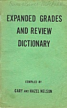Expanded Grades and Review Dictionary by…