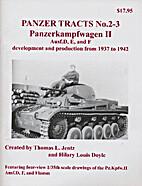PANZER TRACTS NO. 2-3 PANZERKAMPFWAGEN II…