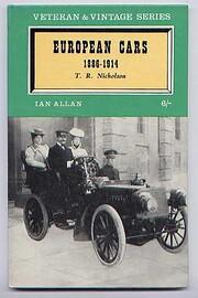 European Cars 1886-1914 (Veteran and Vintage…