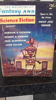 Fantasy And Science Fiction August 1960 Vol.…