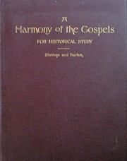 A Harmony of the Gospels For Historical…