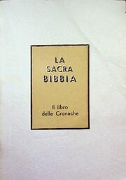 Il libro delle Cronache de Lino Randellini