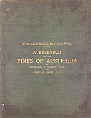 A research on the pines of Australia –…