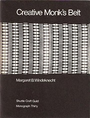 Creative Monk's Belt (Shuttle Craft Guild…