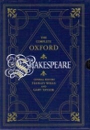 The complete Oxford Shakespeare af William…