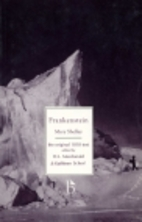 Frankenstein or The Modern Prometheus: The…