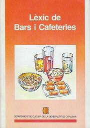 Lèxic de bars i cafeteries