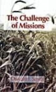 The Challenge of Missions de Oswald Jeffrey…