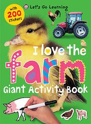 I Love the Farm - Giant Activity Book –…