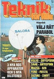 Teknik för Alla Nr 3 1989 por Arne Eriksson…