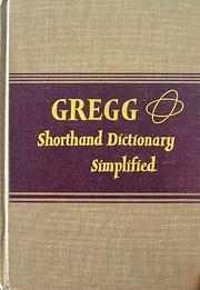 Gregg Shorthand Dictionary Simplified de…