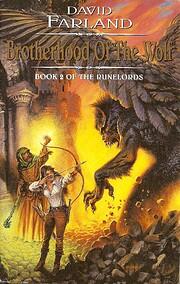 Brotherhood of the Wolf (Runelords) de David…