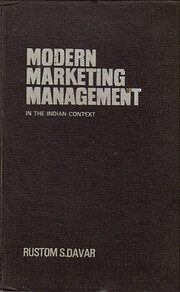 MODERN MARKETING MANAGEMENT IN THE INDIAN…