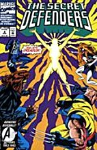 Secret Defenders #2 by Roy Thomas