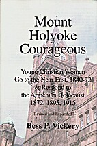 Mount Holyoke Courageous: Young Christian…