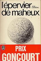 L'épervier de Maheux by Jean Carrière