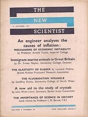 The New Scientist, 31 October 1957 af New…