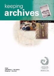 Keeping archives de Jackie Bettington