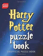 Harry Potter Puzzle Book: Solve over 100…