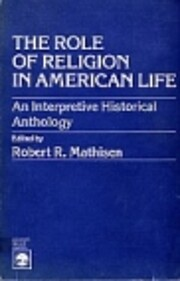 The Role of Religion in American Life: An…