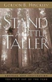 Stand a Little Taller: Counsel and…