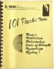 101 Psychic Tests – tekijä: Al Mann