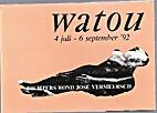 Dichters rond José Vermeersch, Watou 1992